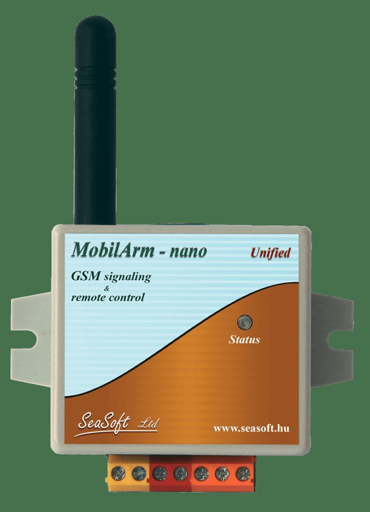 A MobilArm-Nano 4 telefonszámra programozható