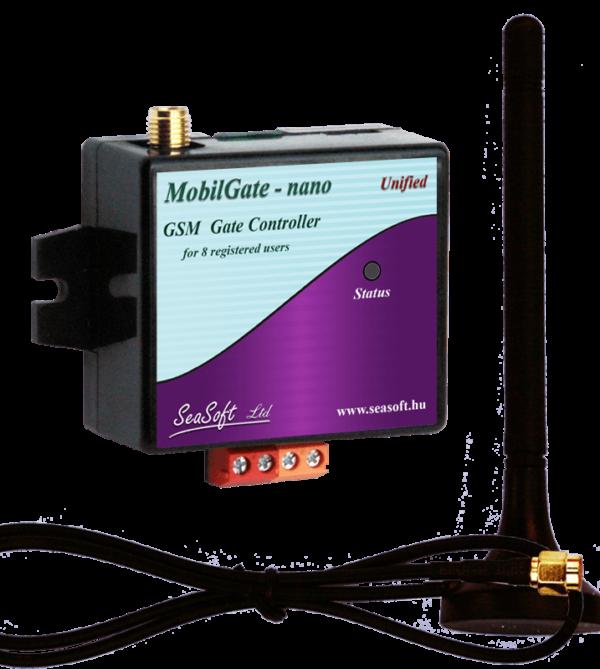 MobilGate-Nano-a egyáramkörös kisáramú relés kimenettel