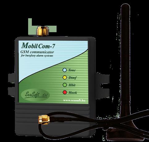 MobilCom-7a riasztóközponthoz illeszkedő GSM modul