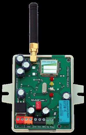 A MobilCom-7p GSM kommunikátor