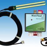 MobilFlood-1 GSM modul mágnestalpas antennával és aranyozott érzékelő szenzorral