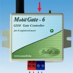 MobilGate-6 GSM modul részeinek bemutatása