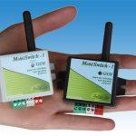 MobilSwitch-1 GSM modul méretei, több színben
