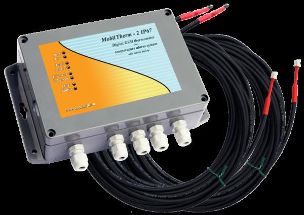 A MobilTherm-2-IP67 ipari nagyáramú távhőmérő, hőfokjelző és hőfokriasztó modul