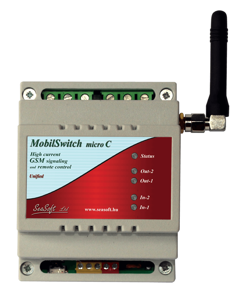 MobilSwitch-Micro-C GSM modul