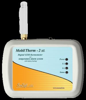 A MobilTherm-2xl A GSM modul belső Lythium-polimer akkumulátorral