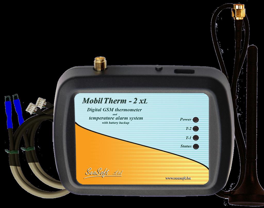 MobilTherm-2xLa távmérésre, távjelzésre és távműködtetésre